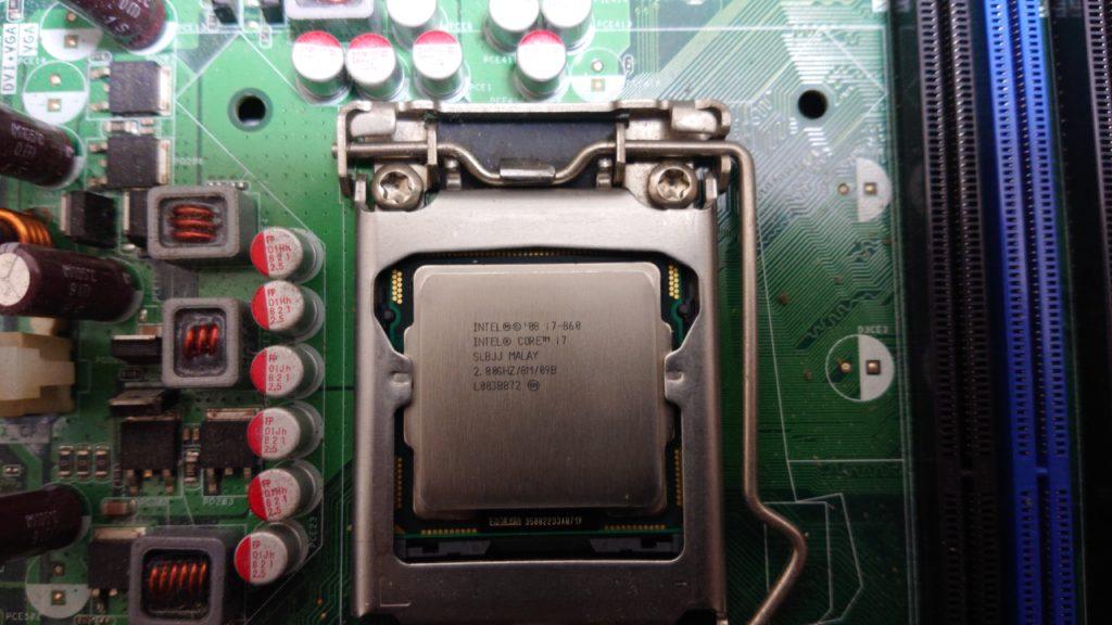 CPU交換で10年前のPCを長生きさせる